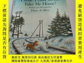 二手書博民逛書店little罕見polar bear take me home(