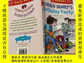 二手書博民逛書店Early罕見Reader Horrid Henrys Birthday Party:早期的讀者可怕的亨利生日聚會