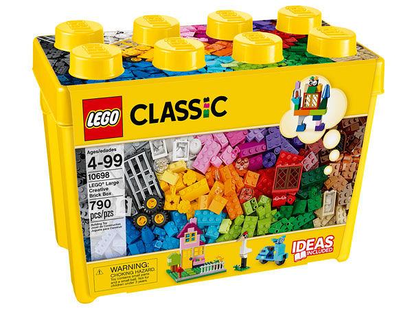 樂高LEGO CLASSIC 大型創意拼砌盒 10698 TOYeGO 玩具e哥