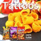 菲律賓 Tattoos 玉米圈餅 60g 【櫻桃飾品】【29851】