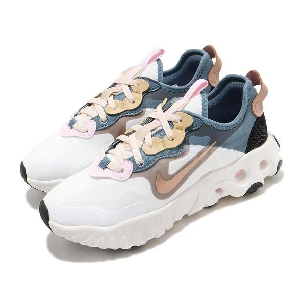 Nike 慢跑鞋 Wmns React Art3mis 白 藍 女鞋 休閒鞋 舒適泡棉 運動鞋【ACS】 CZ1148-100