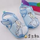 【樂樂童鞋】台灣製迪士尼公主愛麗絲嗶嗶涼鞋 D094 - 女童鞋 小童鞋 涼鞋 學步鞋 寶寶鞋 嗶嗶鞋