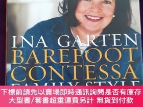 二手書博民逛書店Barefoot罕見Contessa Family Style: Easy Ideas and Recipes T