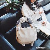 動物包 小動物可愛書包女韓版原宿ulzzang 高中學生 ins超火雙肩包背包潮  凱斯盾數位3c