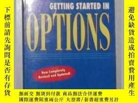 二手書博民逛書店英文原版罕見Getting Started in Options