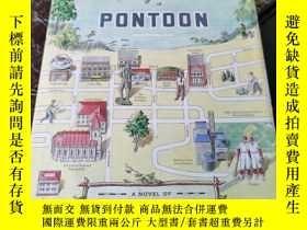 二手書博民逛書店garrison罕見keillor pontoon : a novel of lake wobegonY112