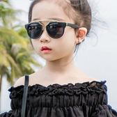 時尚兒童墨鏡寶寶太陽鏡1-3-10歲男孩女童圓形太陽眼鏡防紫外線潮【米蘭街頭】