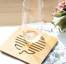木質餐墊隔熱墊創意餐桌墊盤子