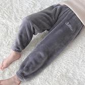 兒童棉褲 兒童暖暖褲冬季加絨加厚寶寶保暖褲男童居家睡褲外穿女童褲子【快速出貨八折搶購】