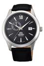 [Y21潮流精品] 新款!ORIENT 東方錶 Classic Design系列 日期顯示機械錶 黑色 皮帶款 FAL00005B