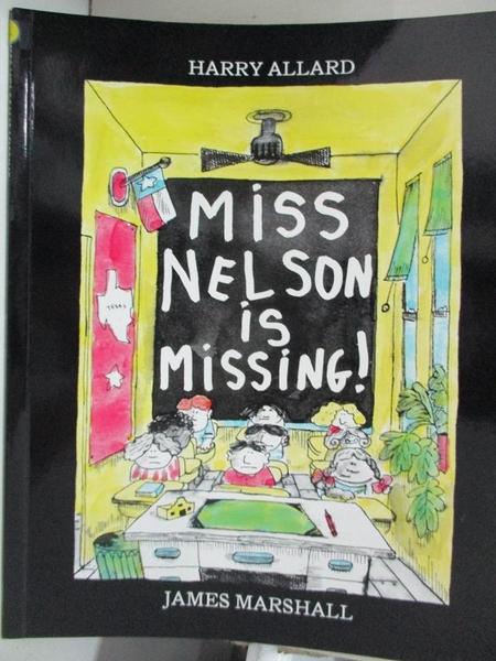 【書寶二手書T3/少年童書_J99】Miss Nelson Is Missing!_Allard, Harry