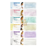 Medicom 麥迪康 醫療口罩 50入/盒 (成人) MIT鋼印藍色粉紅色綠色黃色紫色醫用口罩 成人口罩 兒童口罩