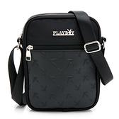 PLAYBOY- 斜背小包 Mr. Black系列 -黑色