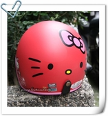 Hello Kitty安全帽,309,大臉/消光紅~林森
