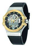 【Maserati 瑪莎拉蒂】/經典LOGO鏤空機械錶(男錶 女錶)/R8821108011/台灣總代理原廠公司貨兩年保固