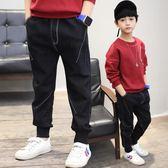 牛仔褲 男童牛仔褲韓版中大童9兒童休閒長褲子8歲童裝男孩【小天使】
