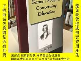 二手書博民逛書店Some罕見Thoughts Concerning Education(關於教育的幾點思考)Y310521 J