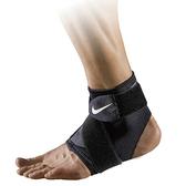 NIKE 護踝 PRO ANKLE WRAP AP 調節式 護具 透氣 包覆 腳踝 支撐 黑 (布魯克林) NMZ13010