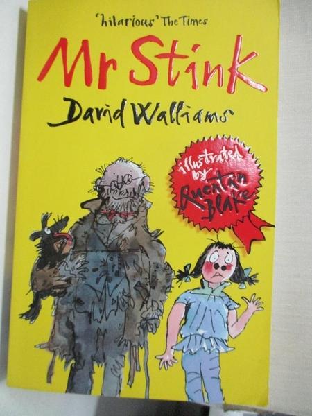【書寶二手書T8/少年童書_GPA】Mr Stink_David Walliams