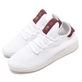 adidas 休閒鞋 PW Tennis HU W Pharrell Williams 白 紅 女鞋 聯名款 運動鞋 【PUMP306】 D96443