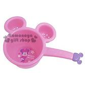 〔小禮堂〕迪士尼 米妮 日製兒童造型小水瓢《粉.大臉型.站姿.花朵.愛心.造型把手》4904121-35012