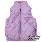 PolarStar 兒童 雙面穿羽絨背心『粉紫』P18255 戶外 休閒 登山 露營 保暖 禦寒 防風 刷毛