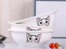 碗 3個家用大號湯碗 陶瓷餐具套裝帶蓋品鍋 創意湯古泡面碗配大湯勺【快速出貨八折搶購】