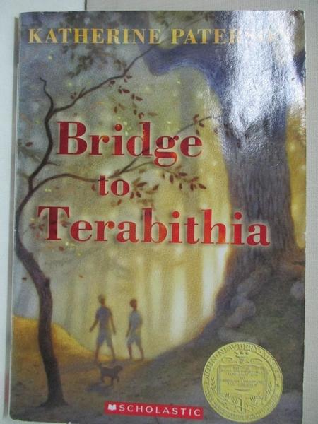 【書寶二手書T4/原文小說_AFI】Bridge To Terabithia_Katherine Paterson