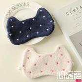 日單GP軟綿綿刺繡五星眼罩睡眠眼罩旅行飛機睡覺遮光護眼眼罩一次元
