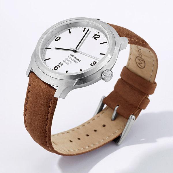 設計系列腕錶 - 白/43mm Mondaine 瑞士國鐵錶