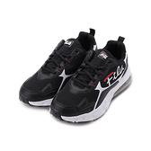 FILA 復古氣墊老爹鞋 黑白 1-J333V-011 男鞋