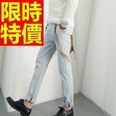 吊帶褲-好搭熱賣自信單寧男長褲56i126【巴黎精品】