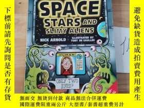 二手書博民逛書店HORRIBLE罕見SCIENCE:SPACE,STARS AND SLIMY ALIENSY246207
