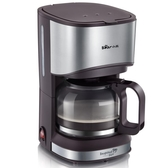 220v 美式咖啡機煮咖啡煮壺滴漏式辦公室家用全自動小型煮茶壺兩用 潮流時