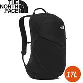 【The North Fac 17L 女單日休閒包 《黑》】3KY9/雙肩背包/通勤背包/休閒背包