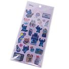 Kamio 造型鐳射光貼紙組 裝飾貼 手帳貼 迪士尼 史迪奇 甜點 紫_KM23920