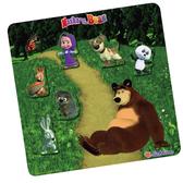 瑪莎與熊 磁鐵組