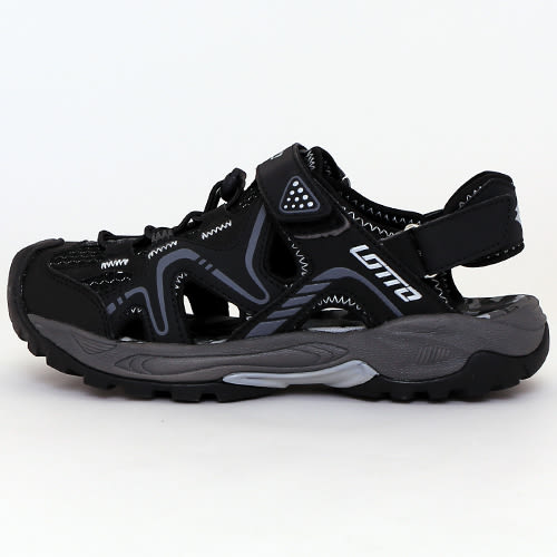 男鞋 LOTTO 戶外越野護趾排水運動涼鞋 輕量大底 排水防滑 59鞋廊