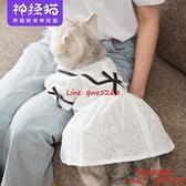 貓咪公主蕾絲裙小幼貓奶貓寵物的可愛網紅衣服春秋裝薄款無防掉毛【時尚好家風】