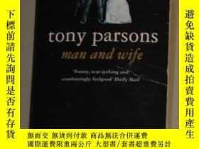 二手書博民逛書店英文原版罕見Man and Wife by Tony Parso