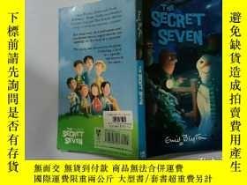 二手書博民逛書店The罕見Secret Seven:秘密七號Y200392