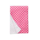 美國 Baby Elephant Ear 親膚毛毯/冷氣毯/防風毯/毯子(68x74cm)-粉紅點點