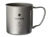 [好也戶外]snow peak SP鈦金屬單層杯-450折疊把 No.MG-143
