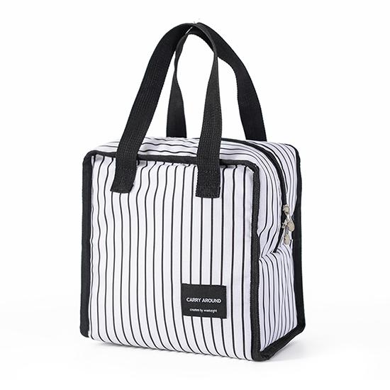 便當袋 便當 收納包 保冷袋 保溫袋 手提包 環保袋 收納袋 簡約正方保溫便當袋(短)【L013-2】MY COLOR