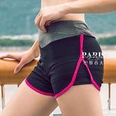 運動褲 戶外速干健身瑜伽跑步運動短褲 巴黎春天