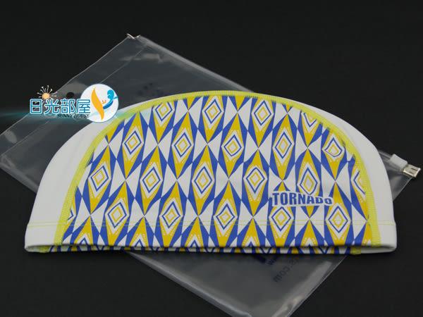 *日光部屋* TORNADO (公司貨)/TC-1516-YEL PU-2WAY 舒適泳帽(韓國知名品牌)