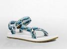 出清 TEVA Teva 女款原創復古水陸運動涼鞋 TV1003987DLHB (US8) [陽光樂活]