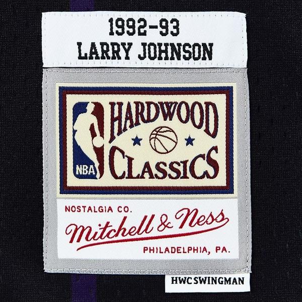 MITCHELL & NESS M&N 球衣 異色版 JOHNSON #2 黃蜂 黑綠 (布魯克林) MNRLJE04A