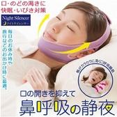 止鼾帶 現貨快出 送止鼾貼 防張嘴睡覺成人口呼吸矯正器止鼾打呼嚕呼吸矯正帶