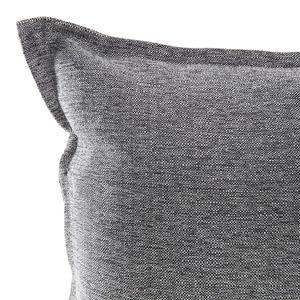 HOLA 新素色織紋抱枕30x60cm 炭灰色